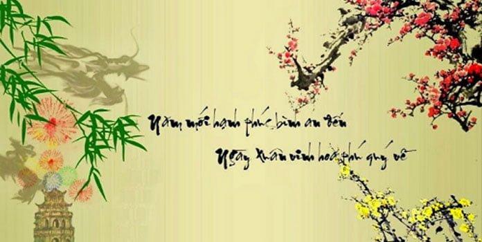Câu đối ngày tết chữ Hán