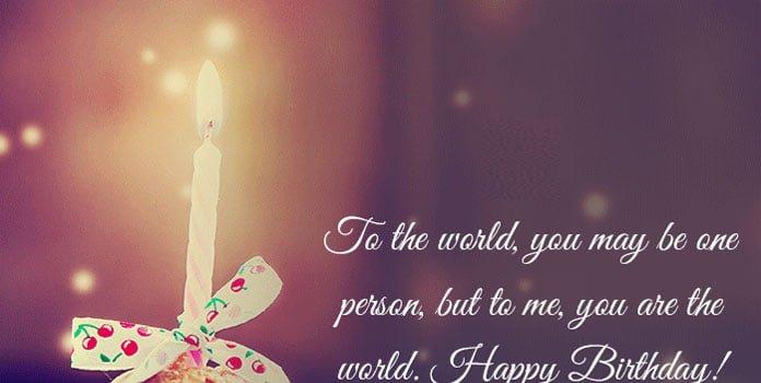 Chúc mừng sinh nhật bằng tiếng anh