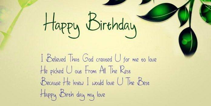 Lời chúc sinh nhật bằng tiếng anh hay