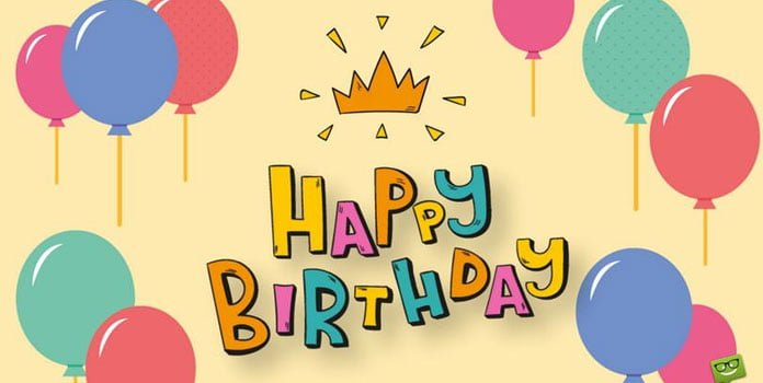 Những câu chúc mừng sinh nhật bằng tiếng anh