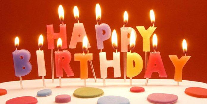 Câu chúc sinh nhật bằng tiếng anh