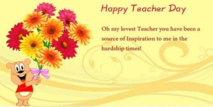 Lời cảm ơn cô giáo - thầy giáo
