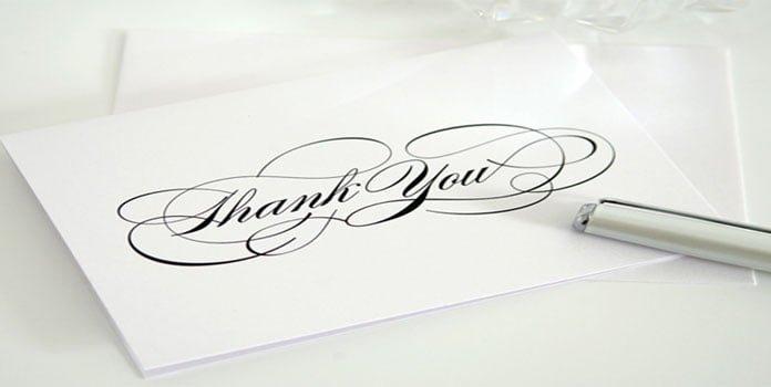 Lời cảm ơn trong đám cưới
