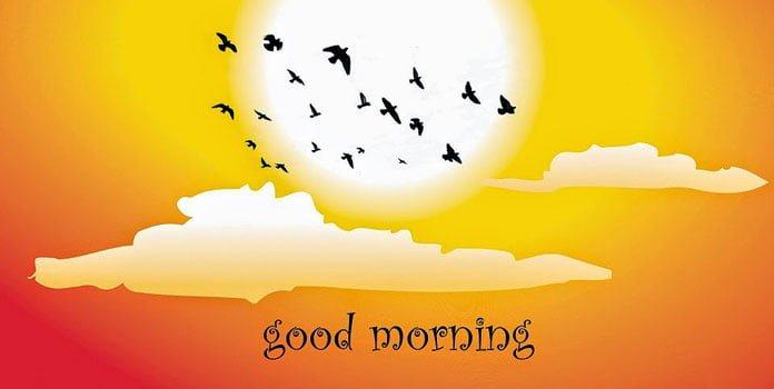 Lời chúc buổi sáng ngọt ngào