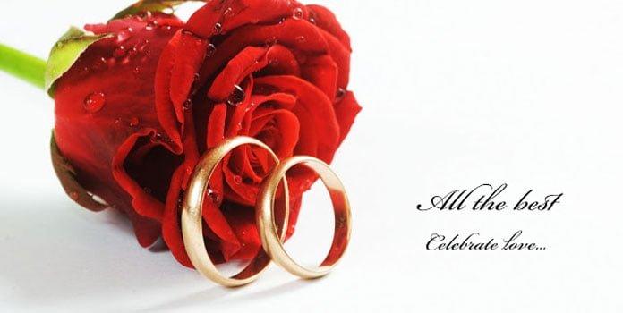 Lời chúc mừng kỷ niệm ngày cưới bằng tiếng anh