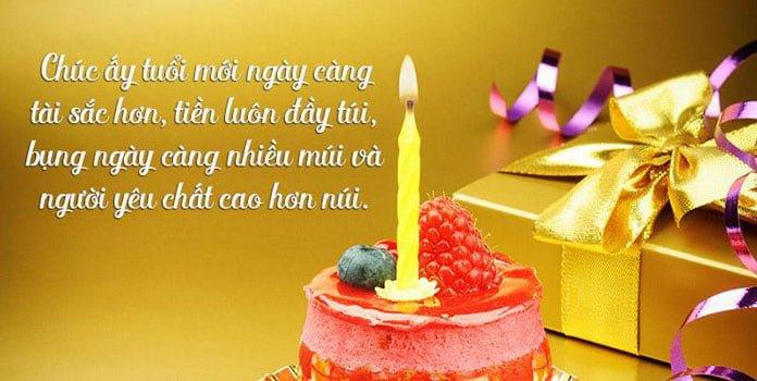 Những lời chúc sinh nhật hài hước