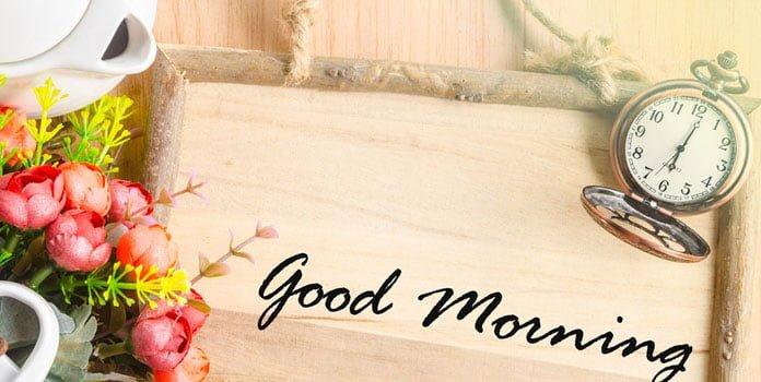 Tin nhắn chúc buổi sáng vui