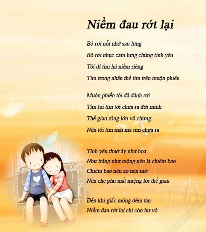 Câu thơ hay về tình yêu