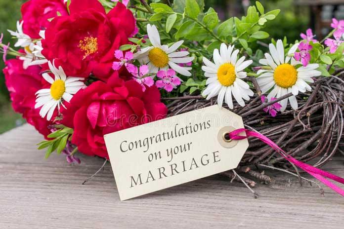 Chúc mừng đám cưới tiếng Anh