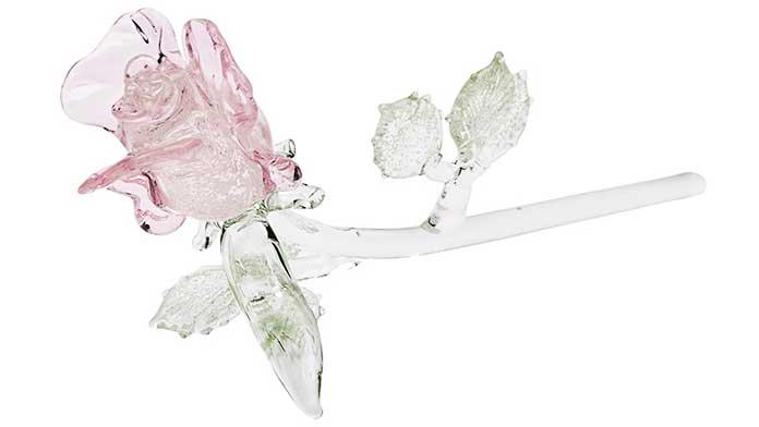 Bông hồng thủy tinh